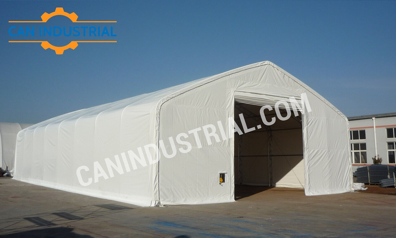 Portable Farm Buildings : Storage building tent feet can industrial