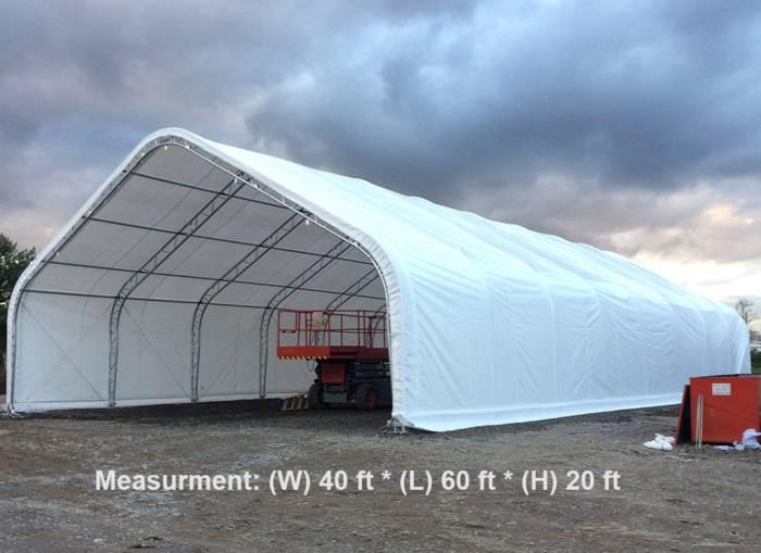 building shelter truss