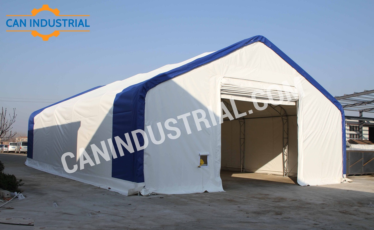 Storage Building Tent 50 x 100 x 23 & Storage Building Tent 50 x 100 x 23 | Can Industrial Supplies