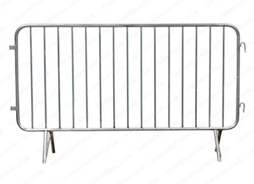 Galvanized Crowd Control Barrier