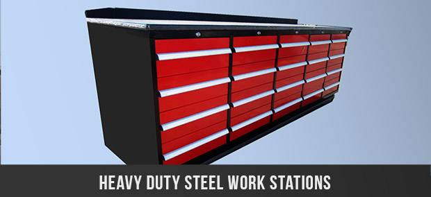 Click to view Can Industrial's complete range of Heavy Duty Tool Boxes and cabinets for all your tool storage needs
