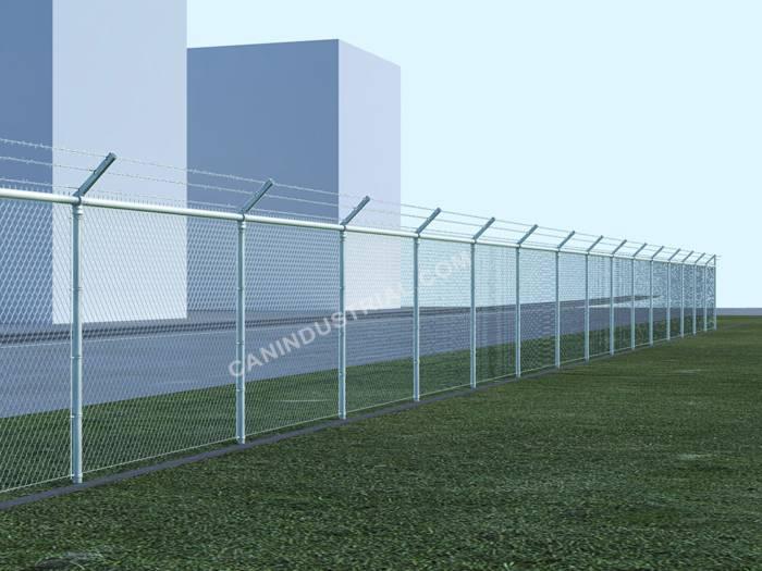 Premium Chain Link Fence 500 Linear Feet