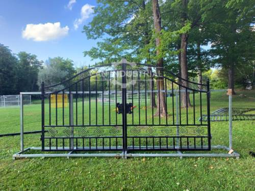 14 Feet Wrought Iron Driveway Gate (Plain)