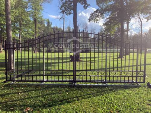 20 Feet Wrought Iron Driveway Gate (Plain)