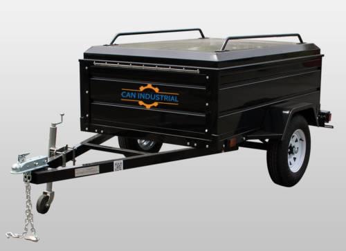 4' x 6' Metal Cargo Trailer